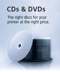 The right discs for the right price.