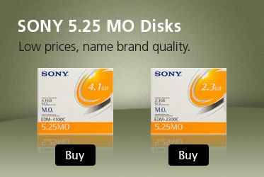 Buy Sony 5.25 MO Disks - 2.3GB
