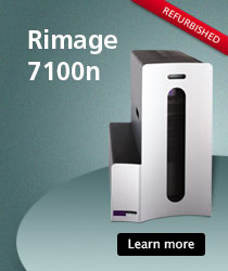 Rimage 7100n - The ultimate disc publisher.