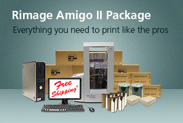 Rimage Amigo II Publishing Package - Everything you need to print like the pros.