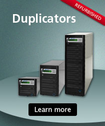 Microboards Duplicators - Copy discs as fast as you need to.