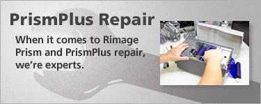 When it comes to Rimage Prism and PrismPlus repair, we're experts.