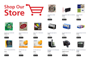 Browse the Techware Store to purchase all things related to CD, DVD Blu-ray and flash drive printing and duplication.
