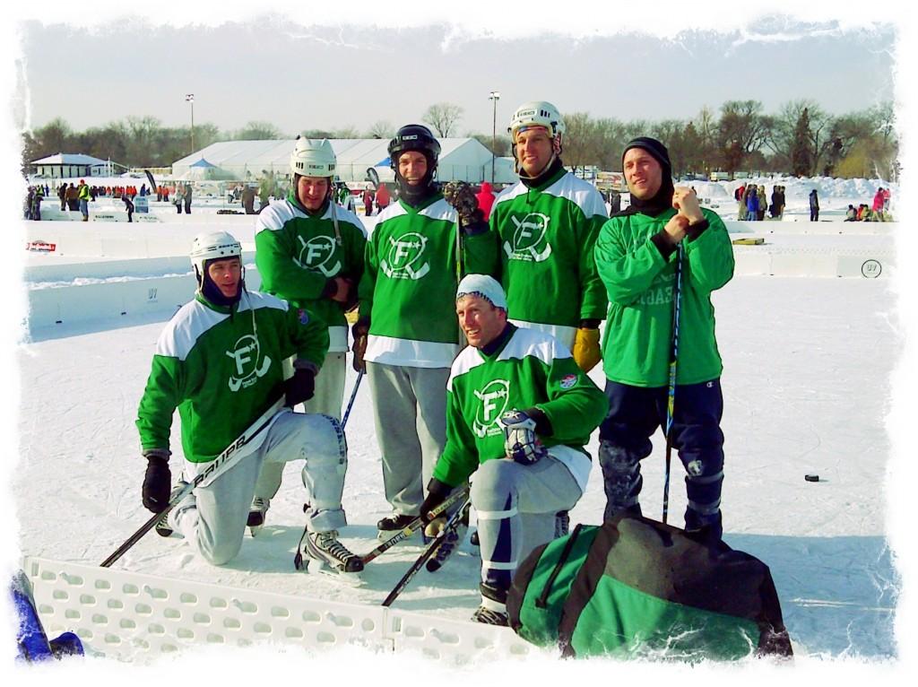 Techware Dist Pond Hockey Team
