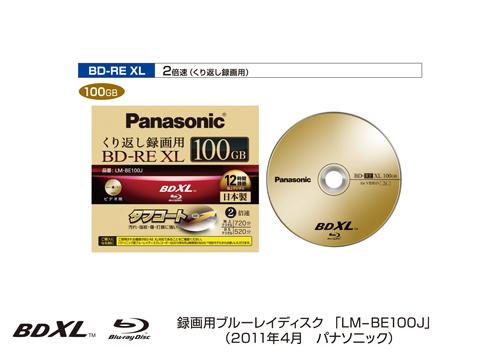 Panasonic BDXL Disk