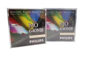 Phillips 640mb Optical disk